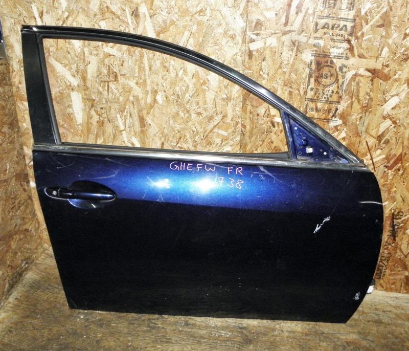 Дверь Mazda Atenza Sport Wagon GHEFW LFVD 2011 передняя правая