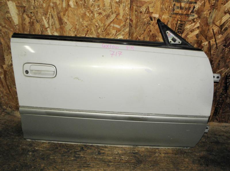 Дверь Toyota Mark Ii GX100 1GFE 1997 передняя правая