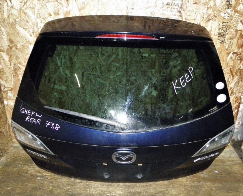 Дверь задняя Mazda Atenza Sport Wagon GHEFW LFVD 2011