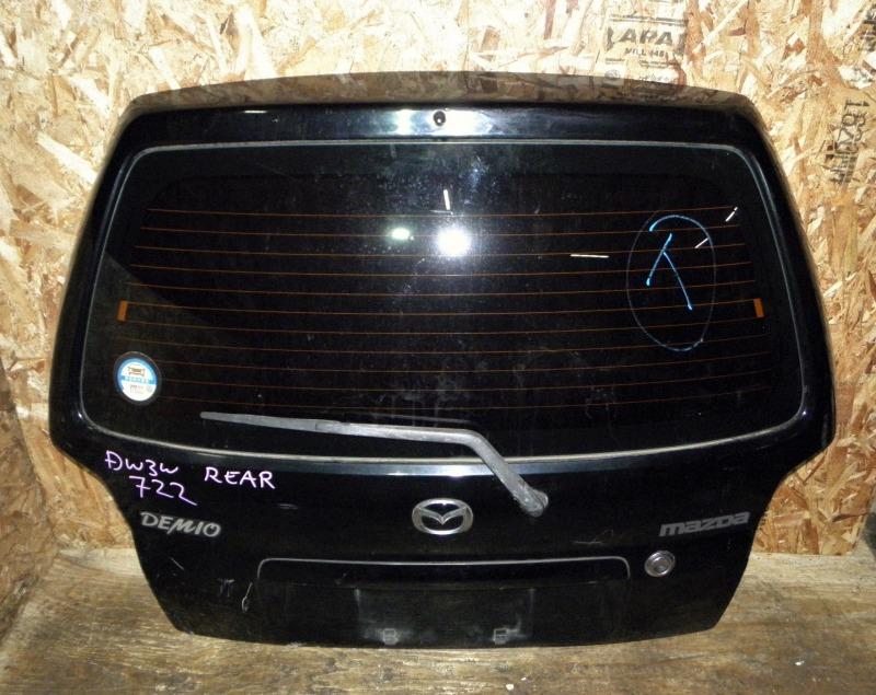 Дверь задняя Mazda Demio DW3W B3 2002