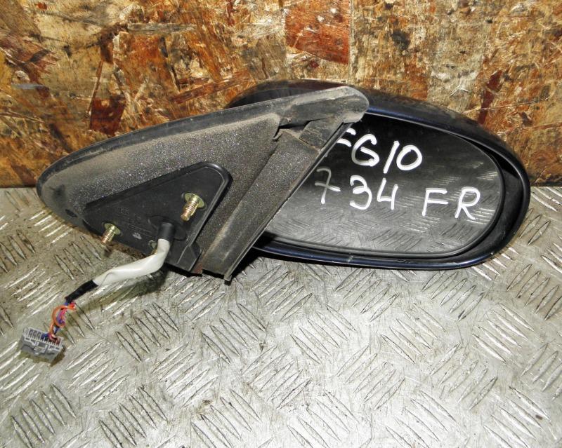 Зеркало Nissan Bluebird Sylphy FG10 QG15DE 2001 переднее правое