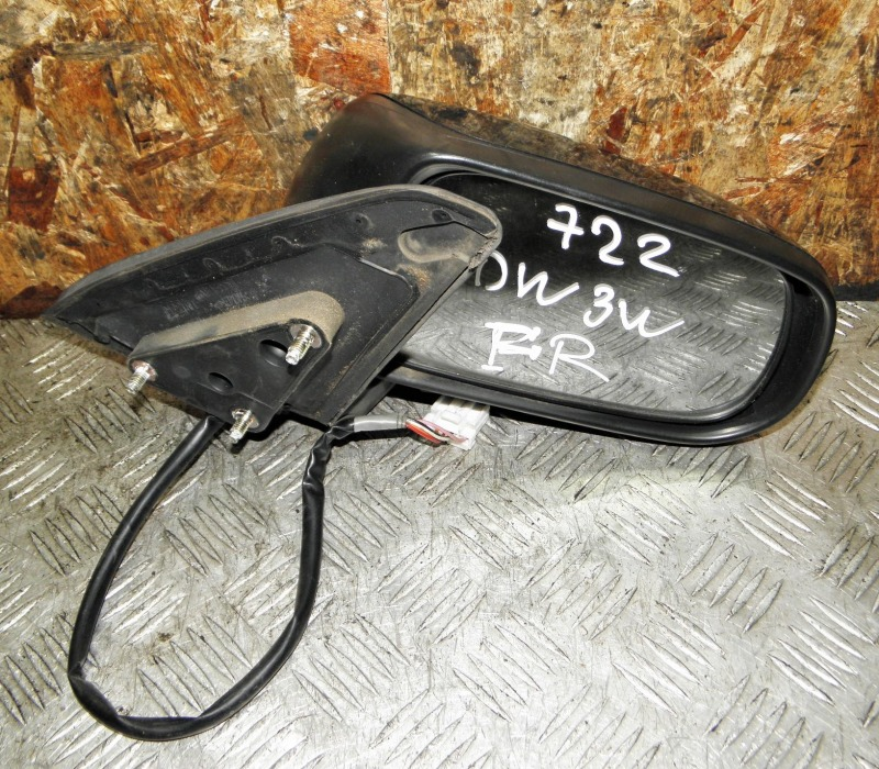 Зеркало Mazda Demio DW3W B3 2002 переднее правое