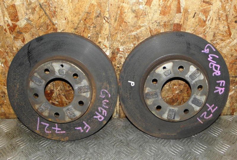 Диск тормозной Mazda Capella Wagon GWER FS 1999 передний