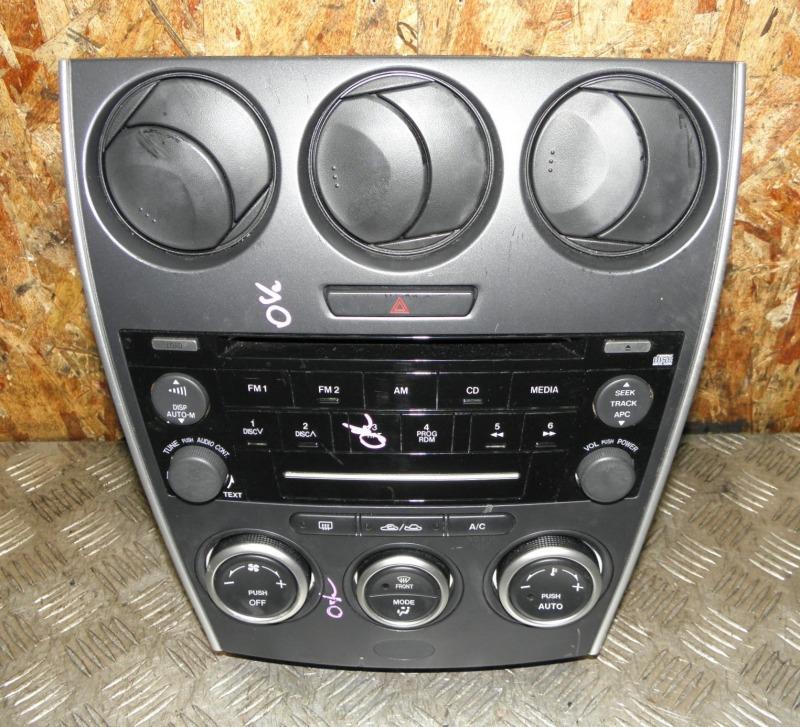 Блок управления климат-контролем Mazda Atenza Sport Wagon GYEW LFVE 2007