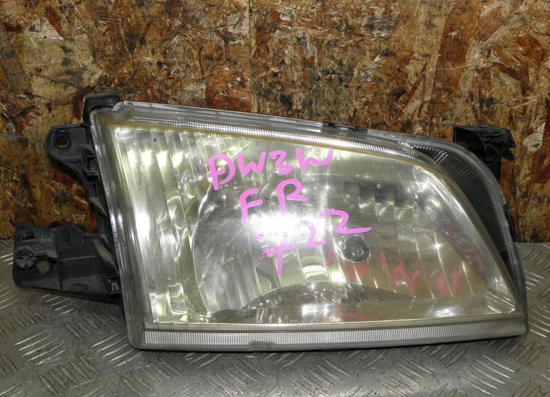 Фара Mazda Demio DW3W B3 2002 передняя правая