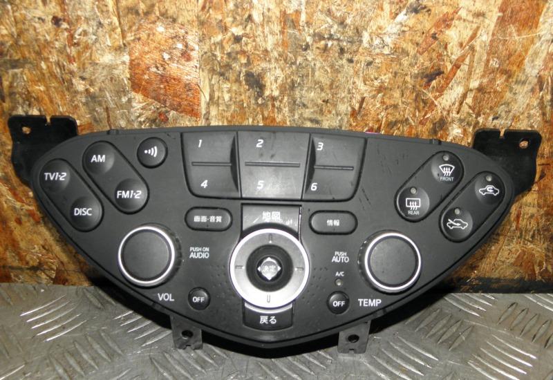Блок управления климат-контролем Nissan Primera TP12 QR20DE 2003