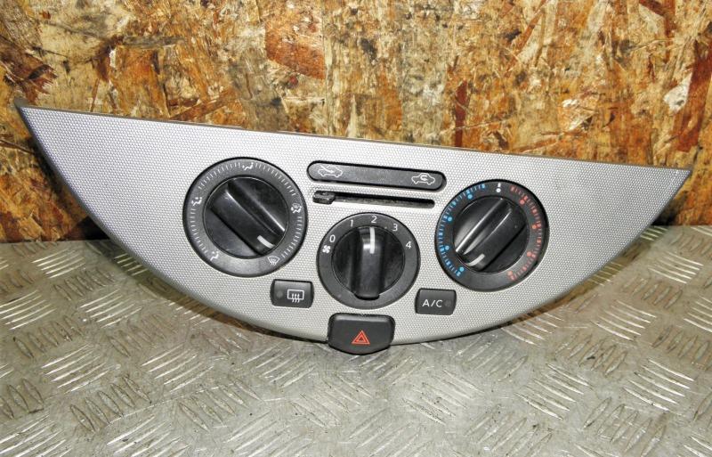 Блок управления климат-контролем Nissan Note E11 HR15DE 2008