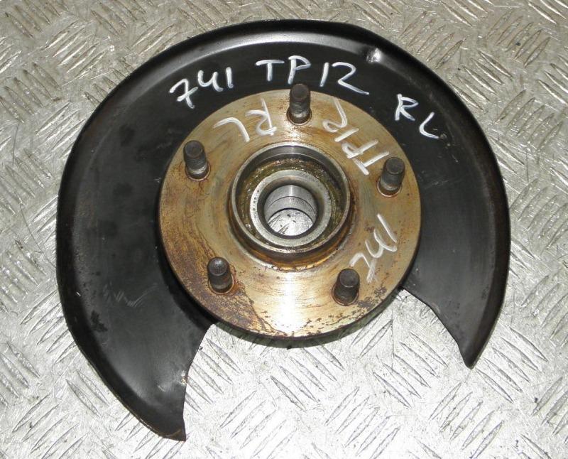 Ступица Nissan Primera TP12 QR20DE 2003 задняя левая