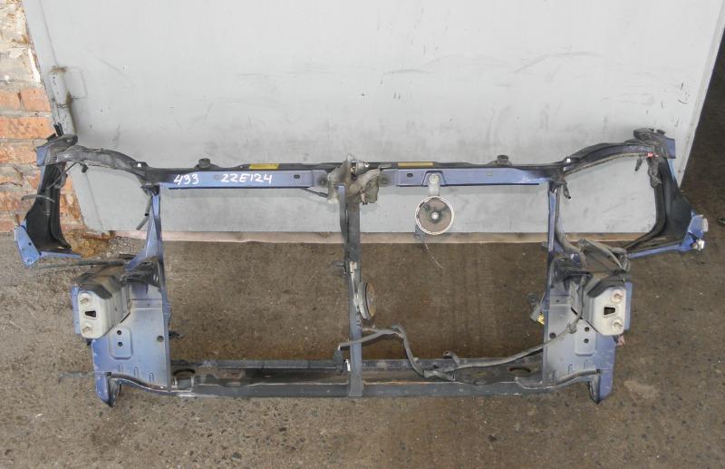 Телевизор Toyota Corolla Fielder ZZE124 1ZZFE 2000 передний