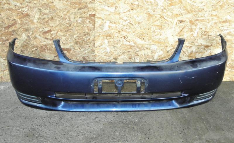 Бампер Toyota Corolla Fielder ZZE124 1ZZFE 2000 передний