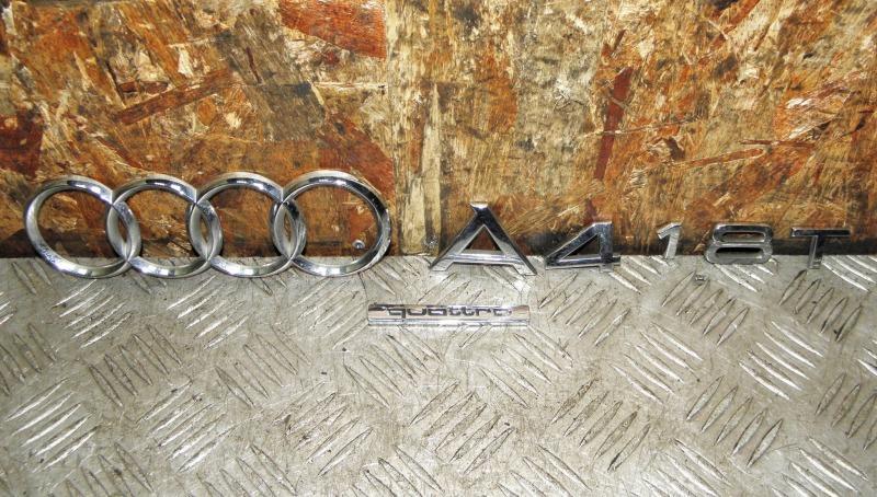 Эмблема Audi A4 Avante B6 BEX задняя