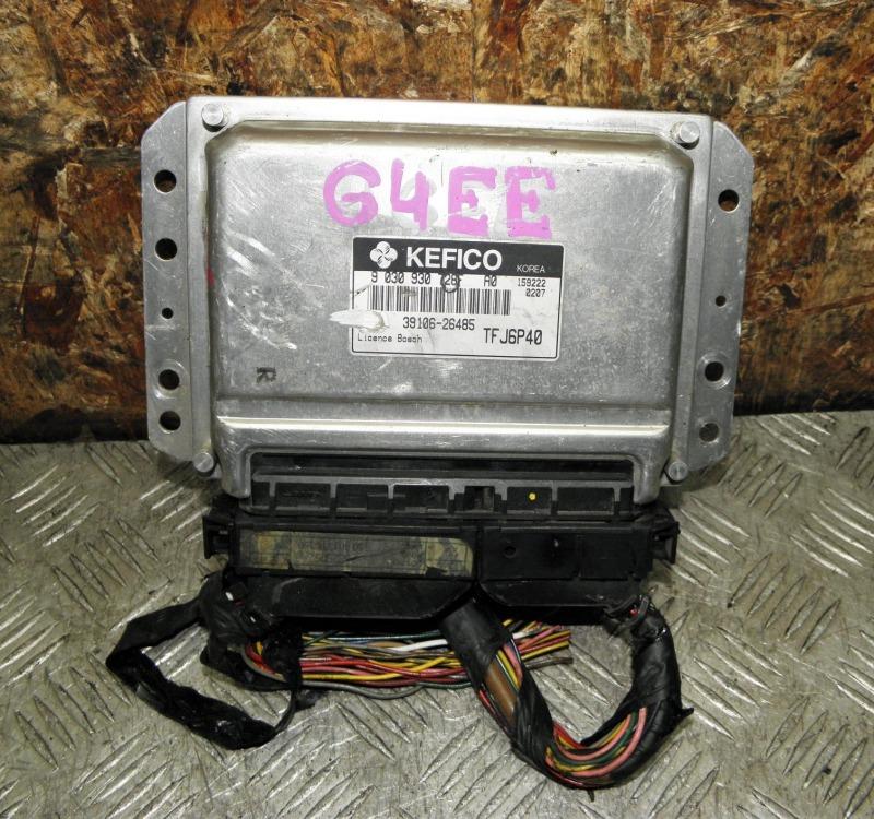 Блок управления efi Hyundai Getz TB G4EE