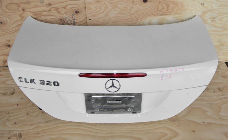 Крышка багажника Mercedes-Benz Clk-Class W209 M112E32 2004