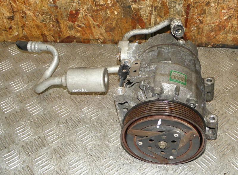Компрессор кондиционера Nissan Avenir RW11 QR20DE 2003