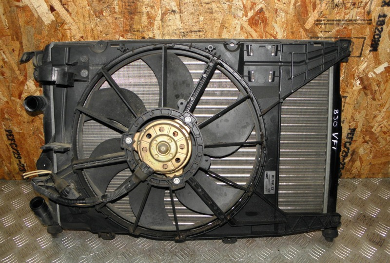 Радиатор двс Renault Scenic F4R741 (2.0 2000