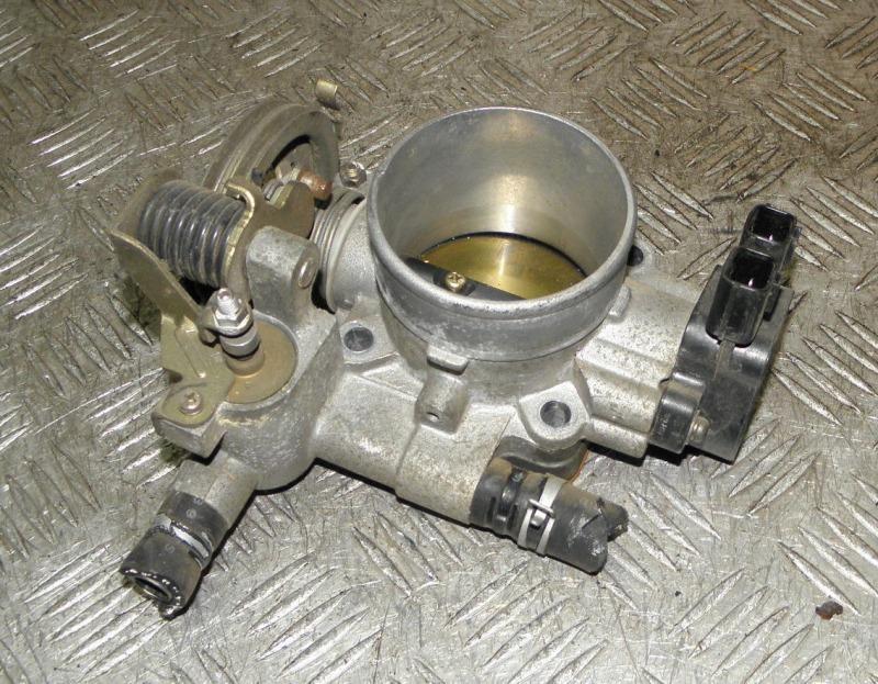 Блок дроссельной заслонки Nissan Avenir PW11 SR20DE 1998