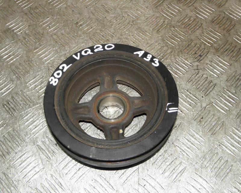 Шкив коленвала Nissan Cefiro A33 VQ20DE 2000