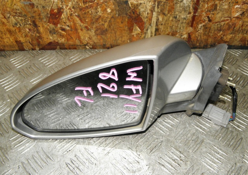 Зеркало Nissan Wingroad WFY11 QG15DE 2002 переднее левое