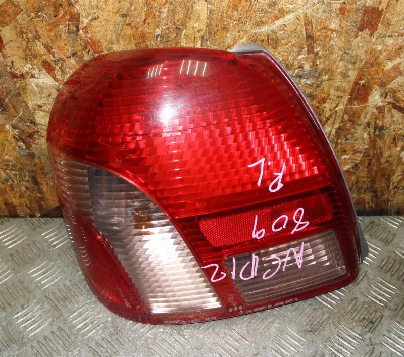 Стоп Toyota Platz NCP12 1NZFE 2002 задний левый