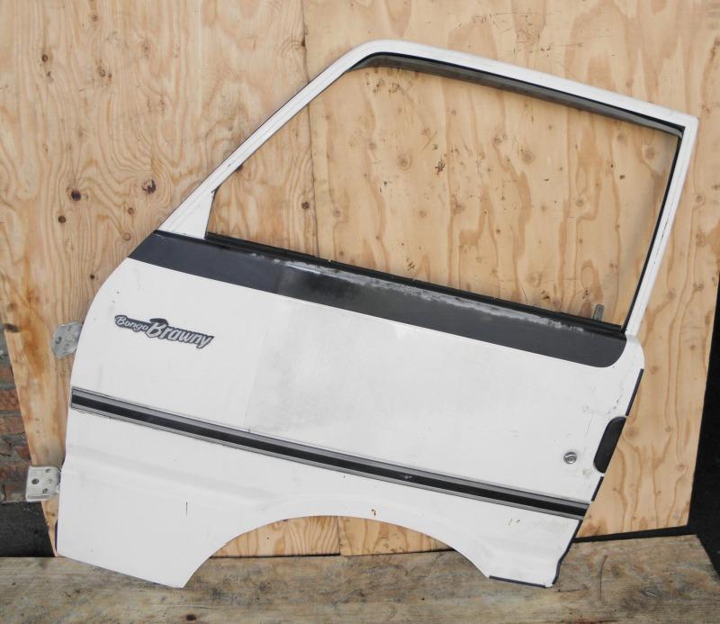 Дверь Mazda Bongo Brawny SR2AM R2 1995 передняя левая