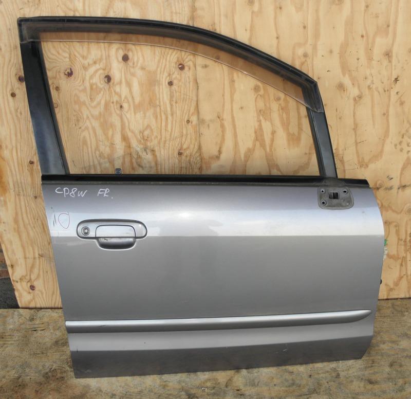 Дверь Mazda Premacy CP8W FPDE 2003 передняя правая