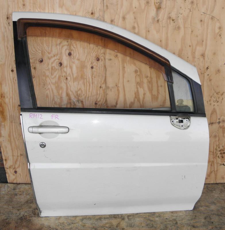 Дверь Nissan Liberty RM12 QR20DE 2002 передняя правая