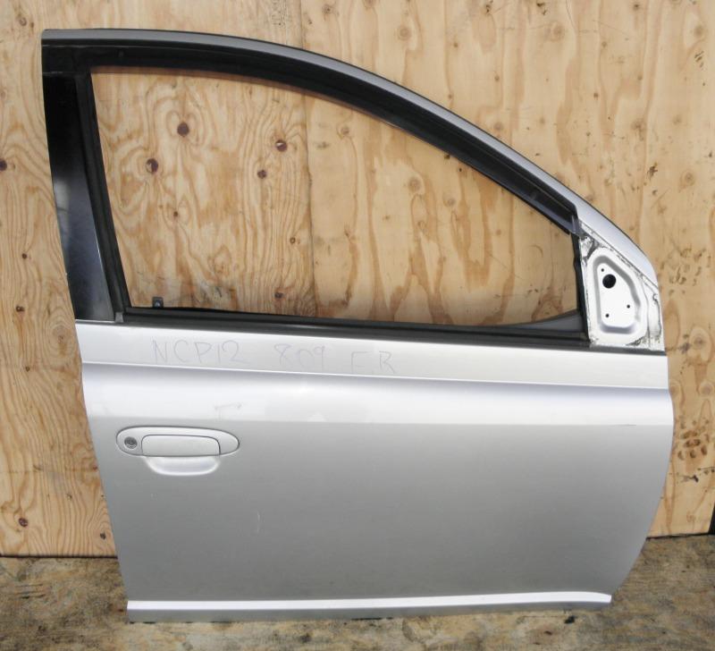 Дверь Toyota Platz NCP12 1NZFE 2002 передняя правая