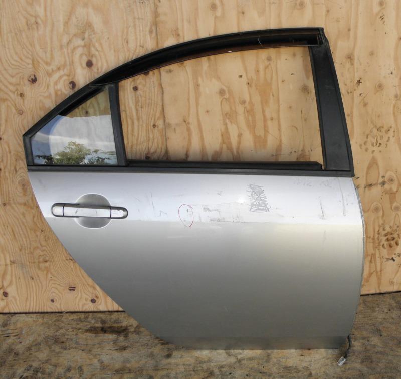 Дверь Nissan Primera TP12 QR20DE 2001 задняя правая