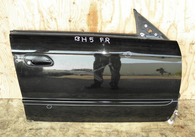 Дверь Subaru Legacy BH5 EJ202DXEAE 2002 передняя правая