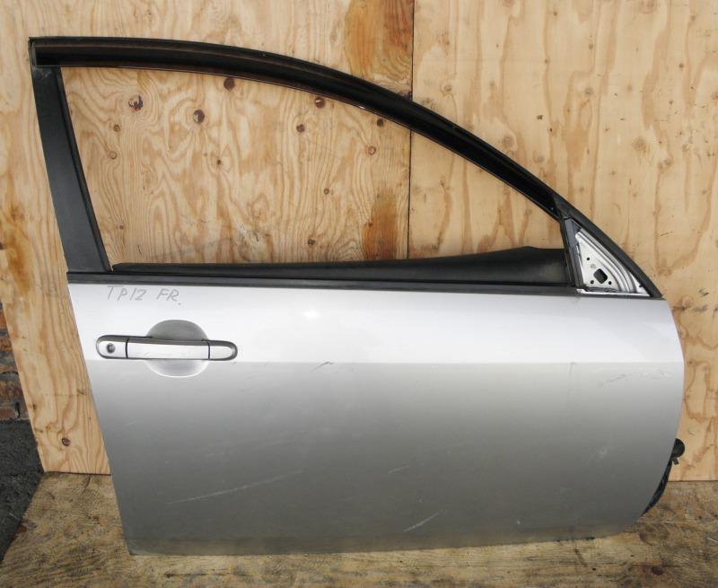 Дверь Nissan Primera TP12 QR20DE 2001 передняя правая