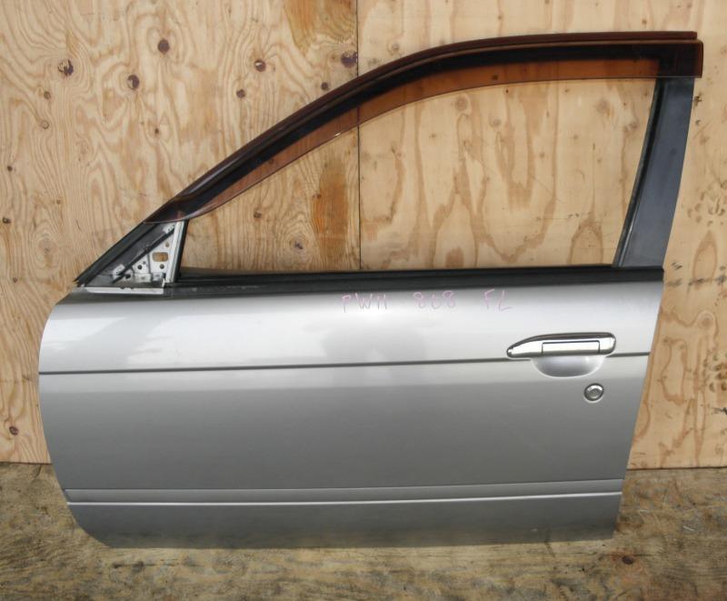 Дверь Nissan Avenir PW11 SR20DE 1998 передняя левая