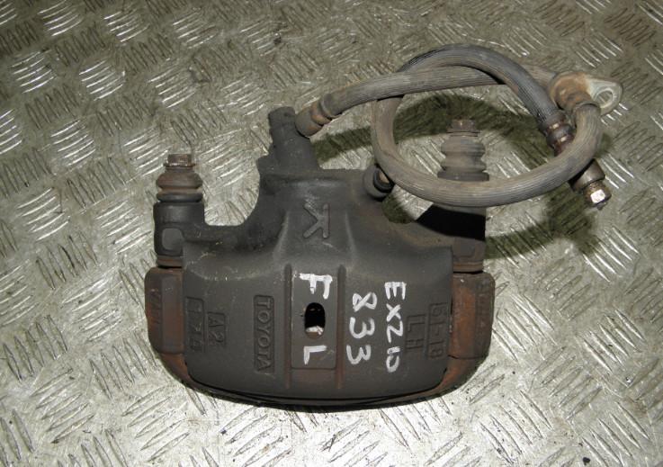 Суппорт Toyota Raum EXZ10 5EFE 2001 передний левый