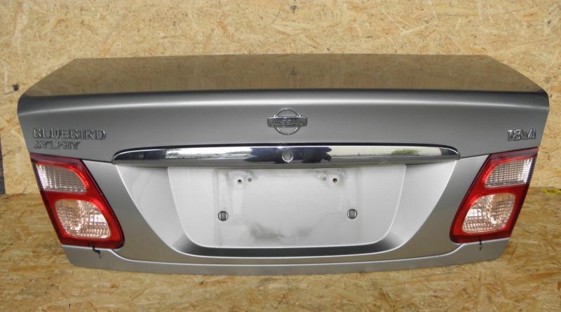 Крышка багажника Nissan Bluebird Sylphy QG10 QG18DE 2001
