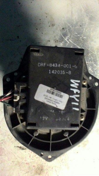 Мотор печки Nissan Wingroad Y11 QG15DE