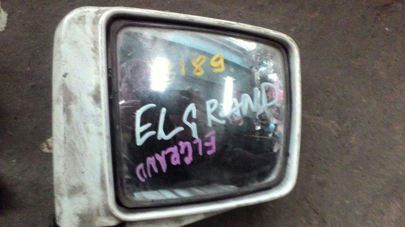 Зеркало Nissan Elgrand ATE50 ZD30DDTI переднее правое