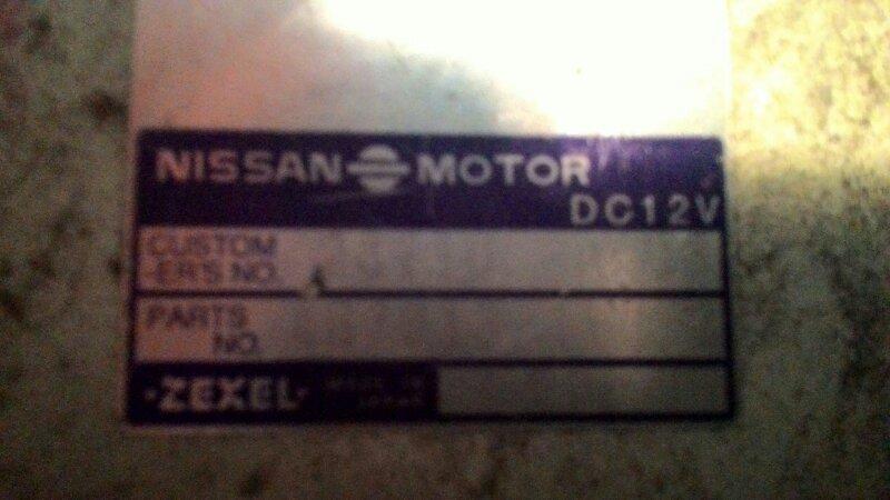 Блок управления двс Nissan Pulsar N15 CD20