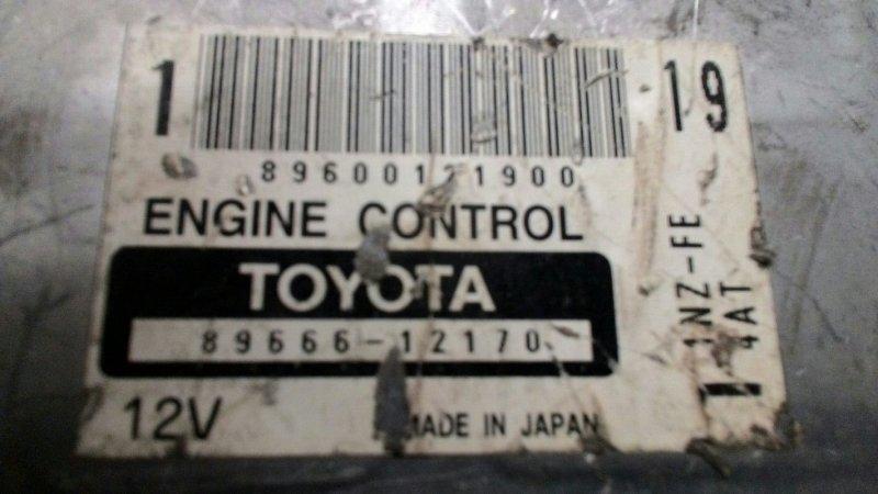 Блок управления двс Toyota 1NZ FE