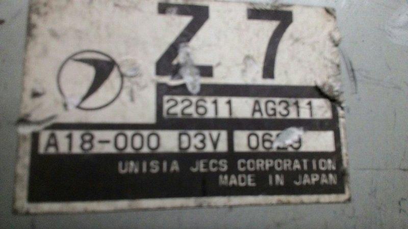 Блок управления двс Subaru