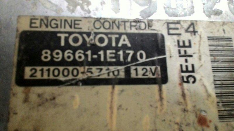 Блок управления двс Toyota Caldina ET196 5EFE