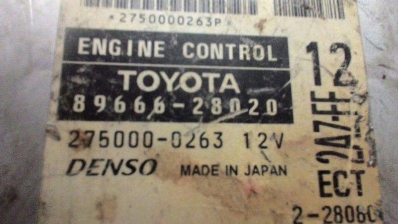 Блок управления двс Toyota Camry ACV30 2AZ FE