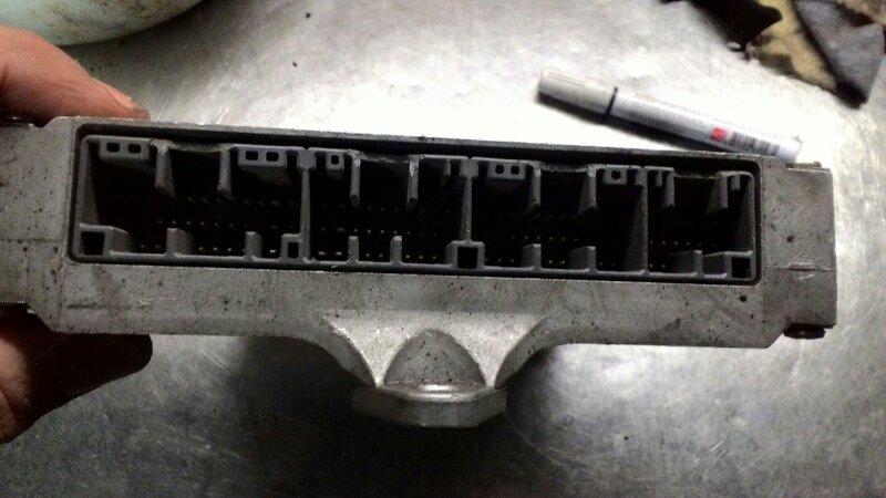 Блок управления двс Honda