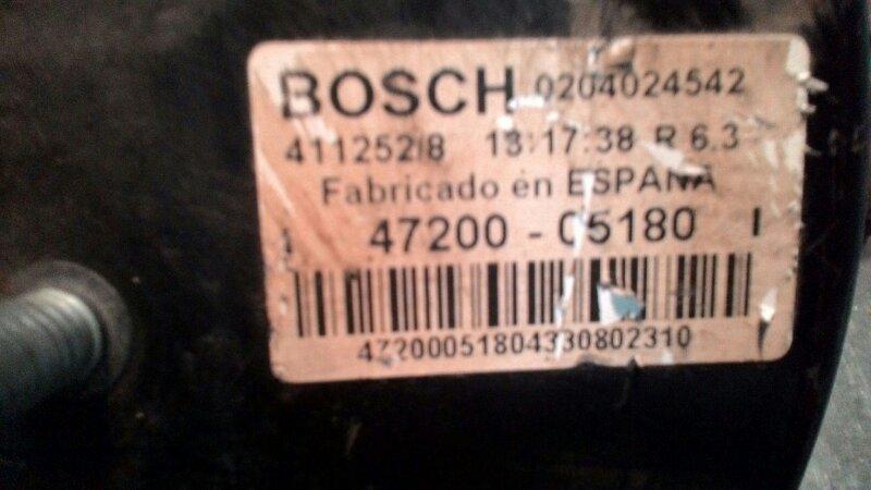 Вакуумный усилитель тормозов Toyota Avensis ZZT250 1ZZ-FE