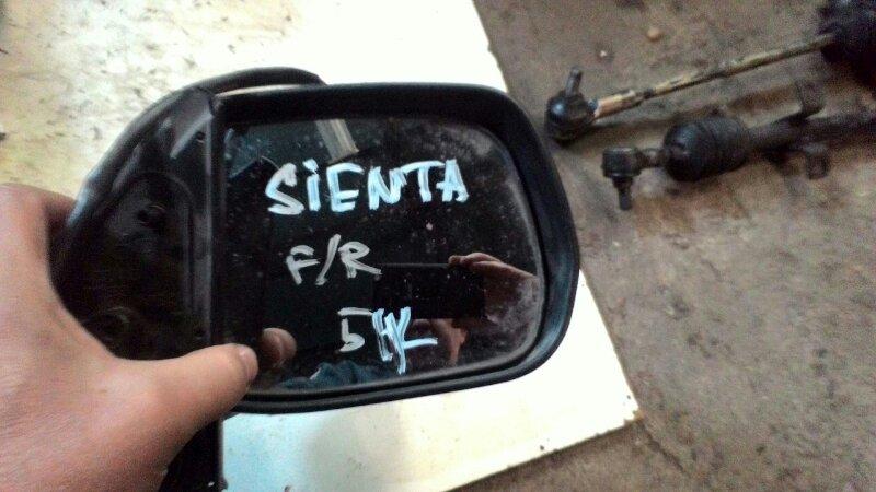 Зеркало Toyota Sienta NCP85G 1NZ-FE переднее правое