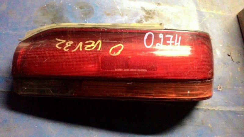 Фонарь Toyota Camry Prominent VZV30 3VZ-FE задний правый