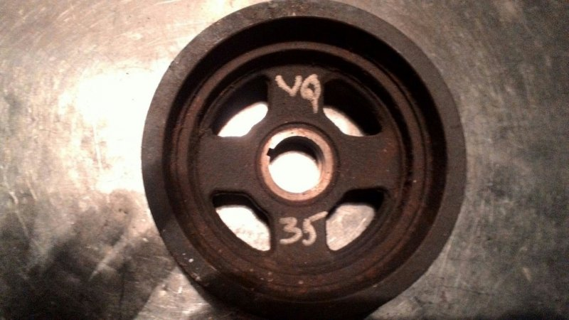 Шкив коленвала Nissan Murano Z50 VQ35DE