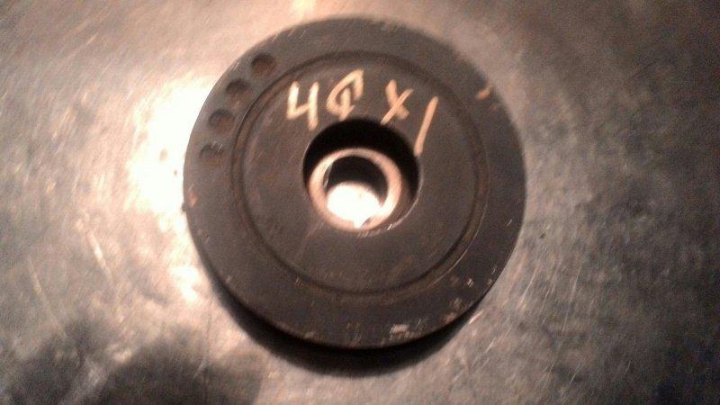 Шкив коленвала Isuzu Bighorn KH- 4JX1