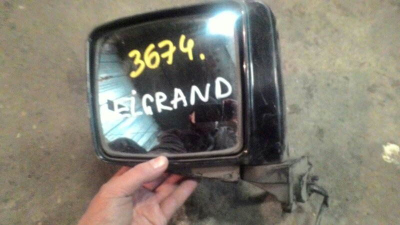 Зеркало Nissan Elgrand ATE50 ZD30DDTI переднее левое