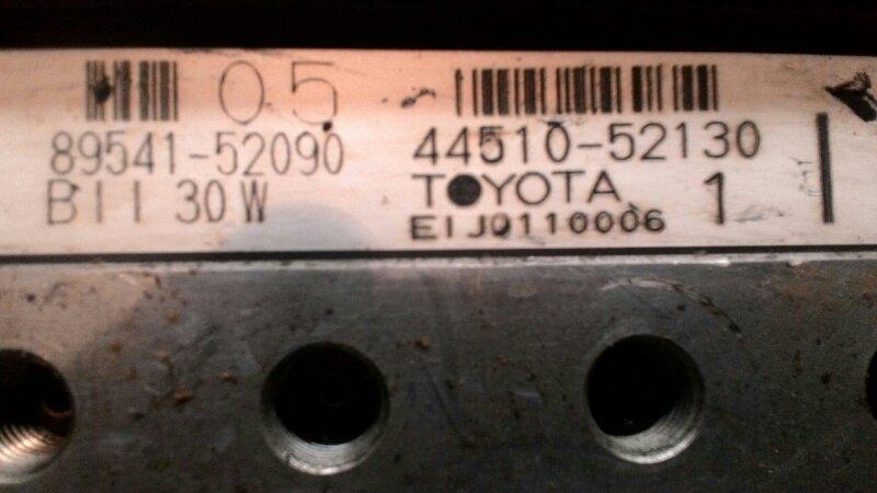 Блок abs Toyota Funcargo NCP20 1NZ-FE