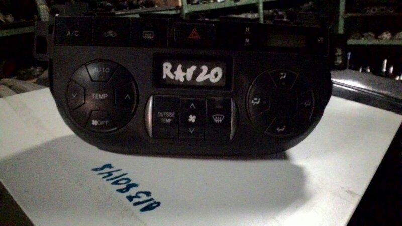 Блок управления климат-контролем Toyota Rav4 ACA25 2AZ-FE
