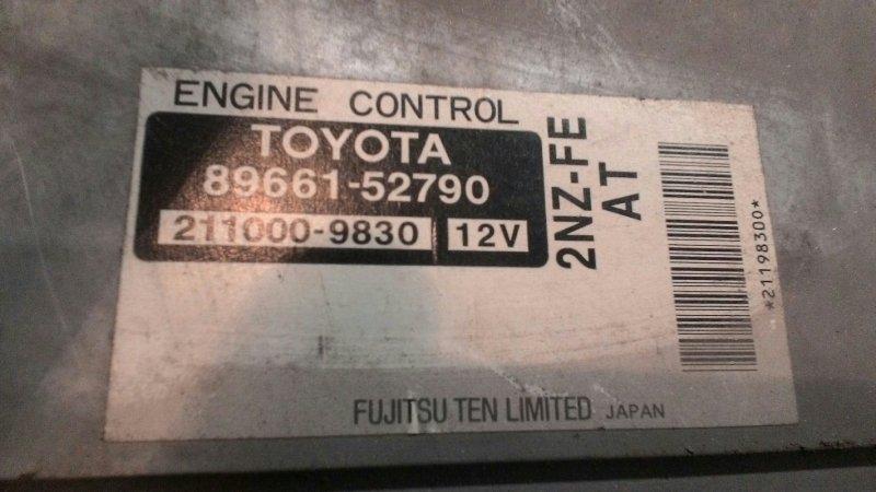 Блок управления двс Toyota Corolla NZE121 2NZ FE